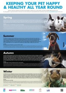 I heart my pet seasonal healthcare wallplanner